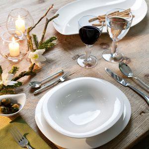 אבזור שולחן החג עם סט הגשה לשולחן
