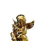 מלאך זהב ROSENTHAL- וחתול