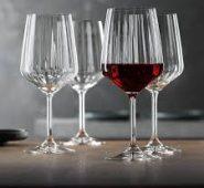 סט 4 גביעי יין אדום לייף סטייל