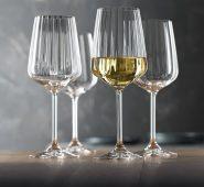 סט 4 גביעי יין לבן לייף סטייל