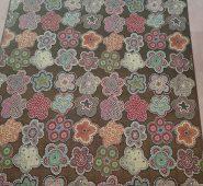 שטיחון מעוצב לבית – דגם פרחוני