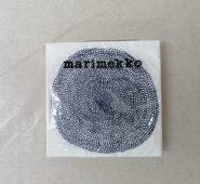 """חבילת מפיות נייר """"פוקוס"""" MARIMEKKO לבן כחול"""